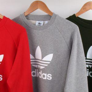 adidas trefoil sweatshirt