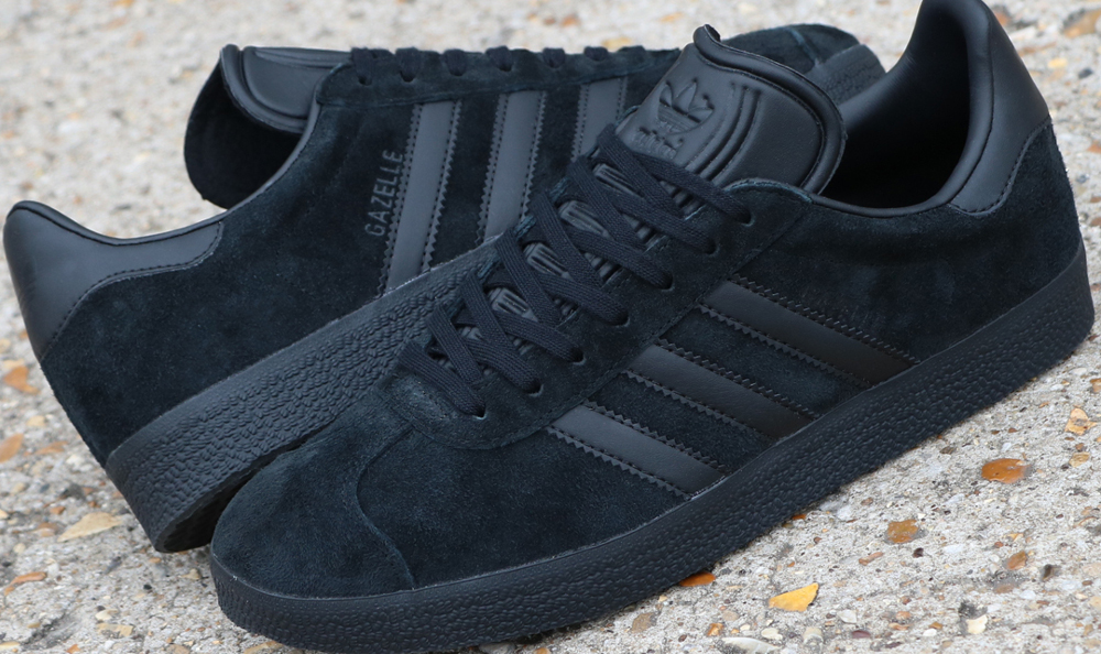 All Black adidas Trainer Styles At 80s Casual Classics ...