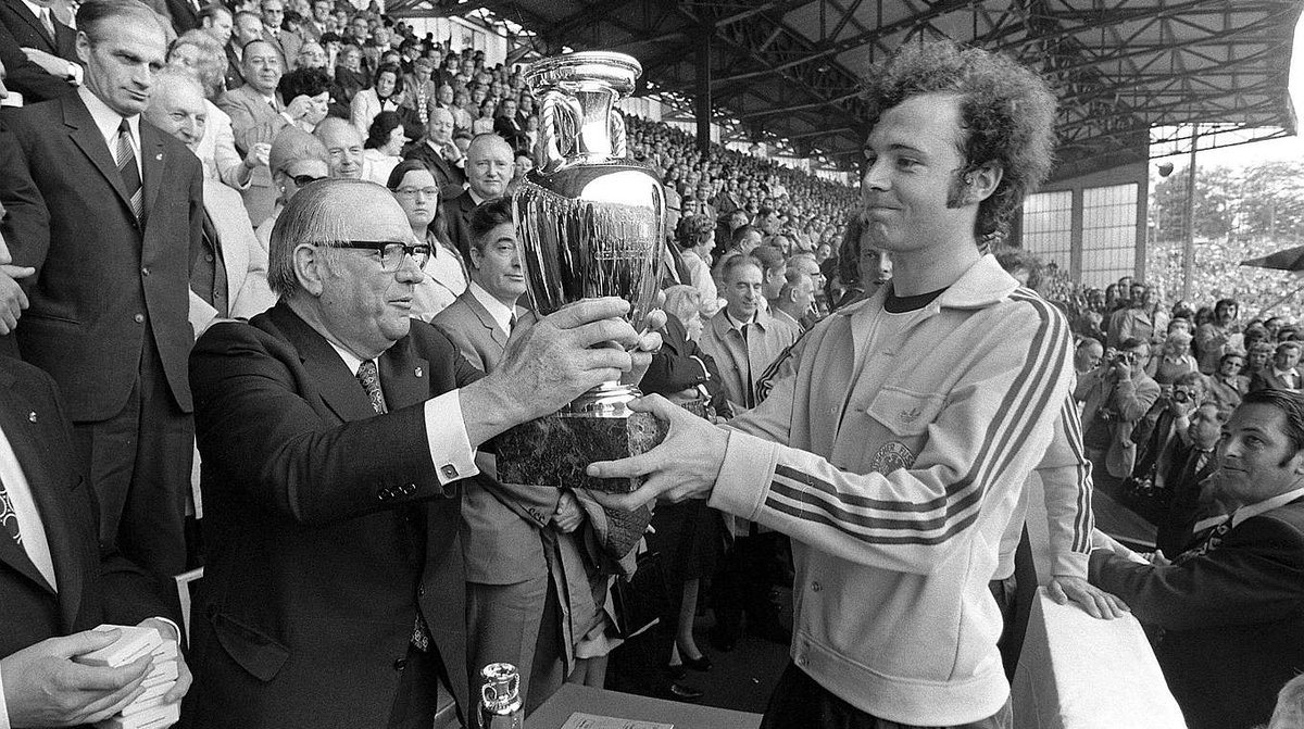 Franz Beckenbauer adidas tracksuit