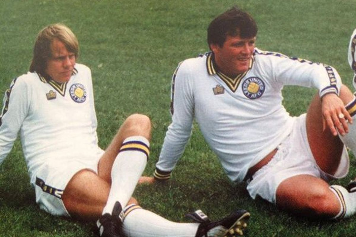 Retro Football Shirt Leeds 1978 Admiral
