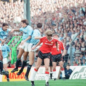 Retro Football Shirts Man City 1989