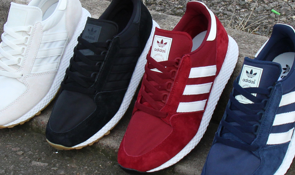 91992edc3f2 The adidas Forest Grove Has Now Landed In Some Fresh New Colourways ...