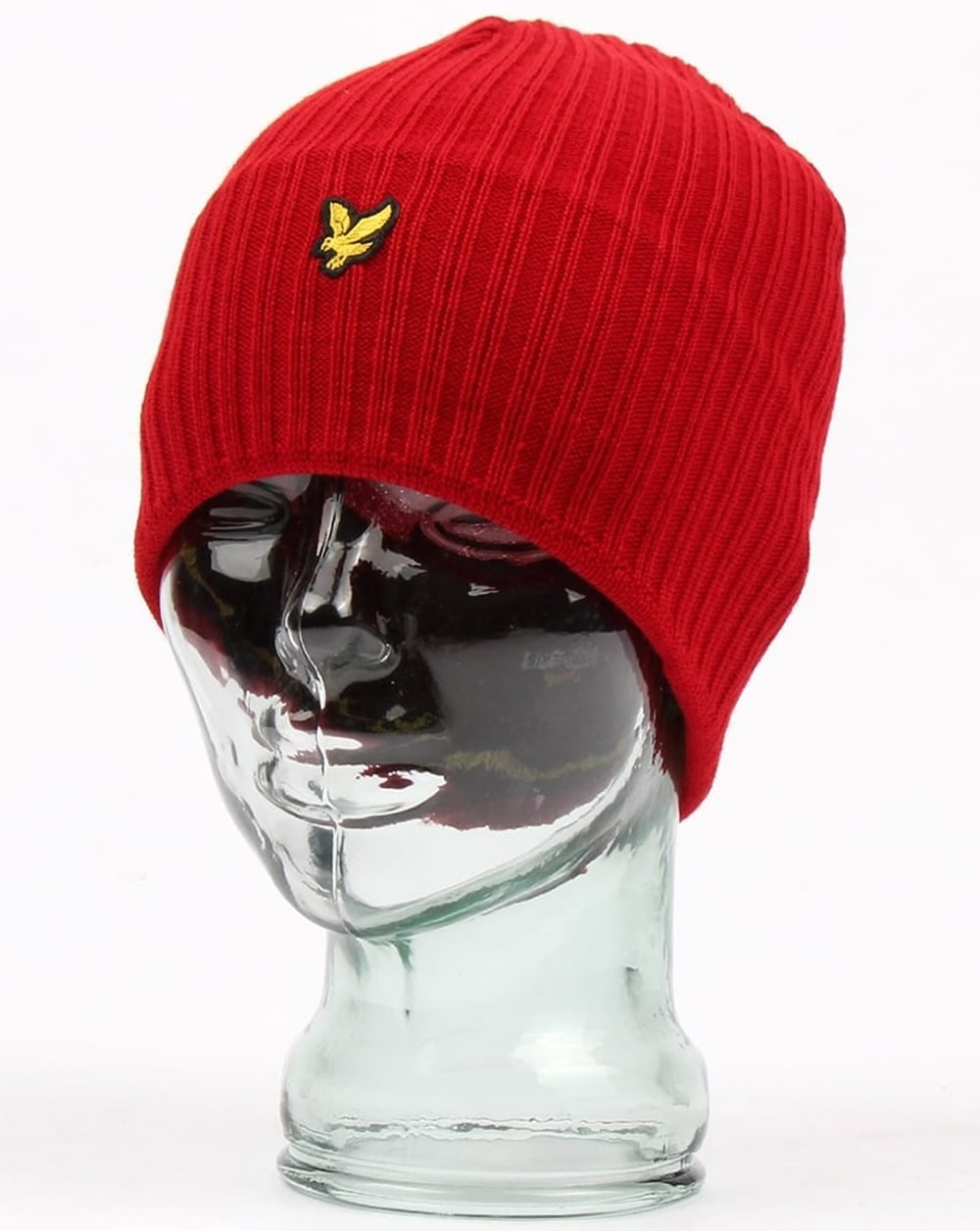 Lyle & Scott Beanie Red