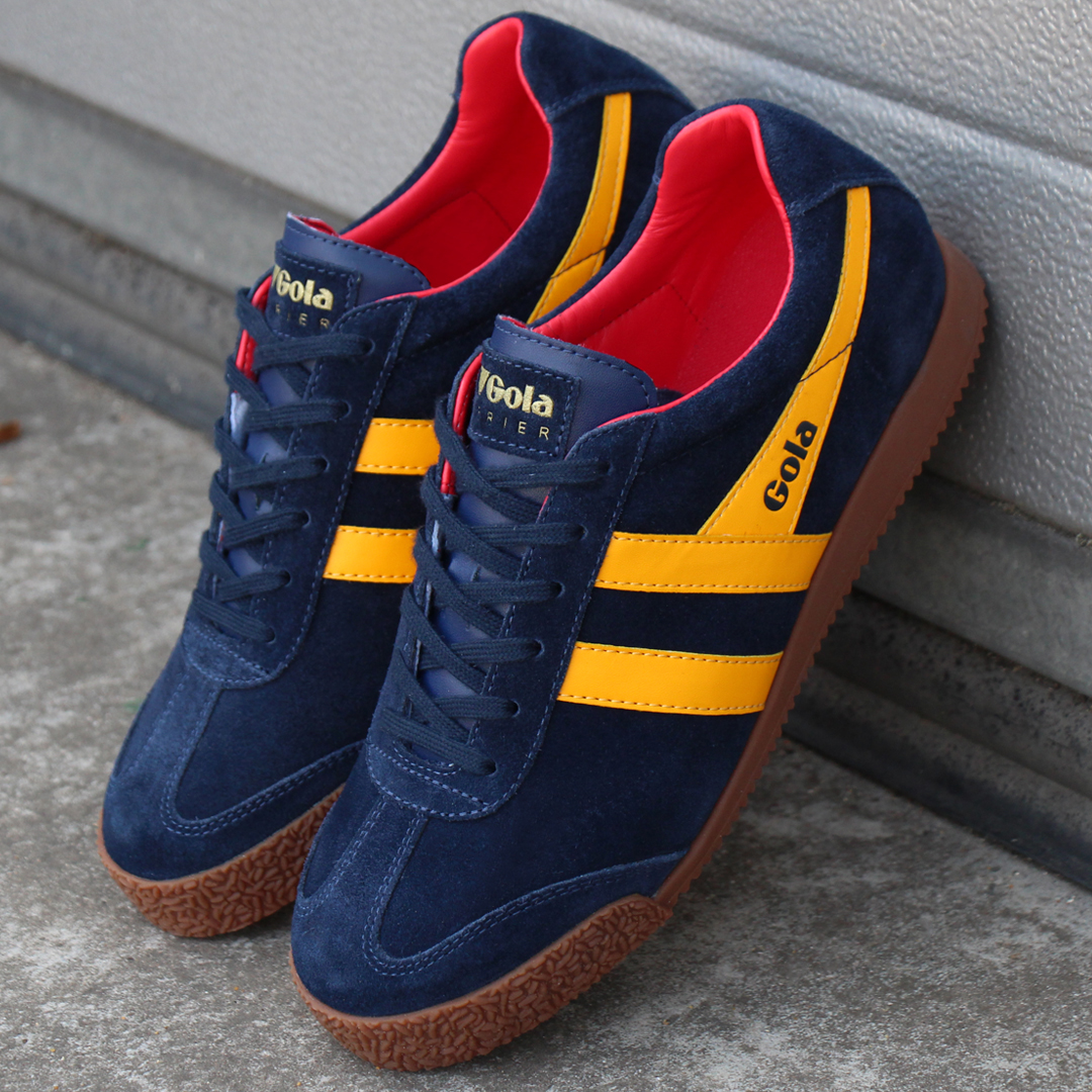Gola Harrier Suede Trainer