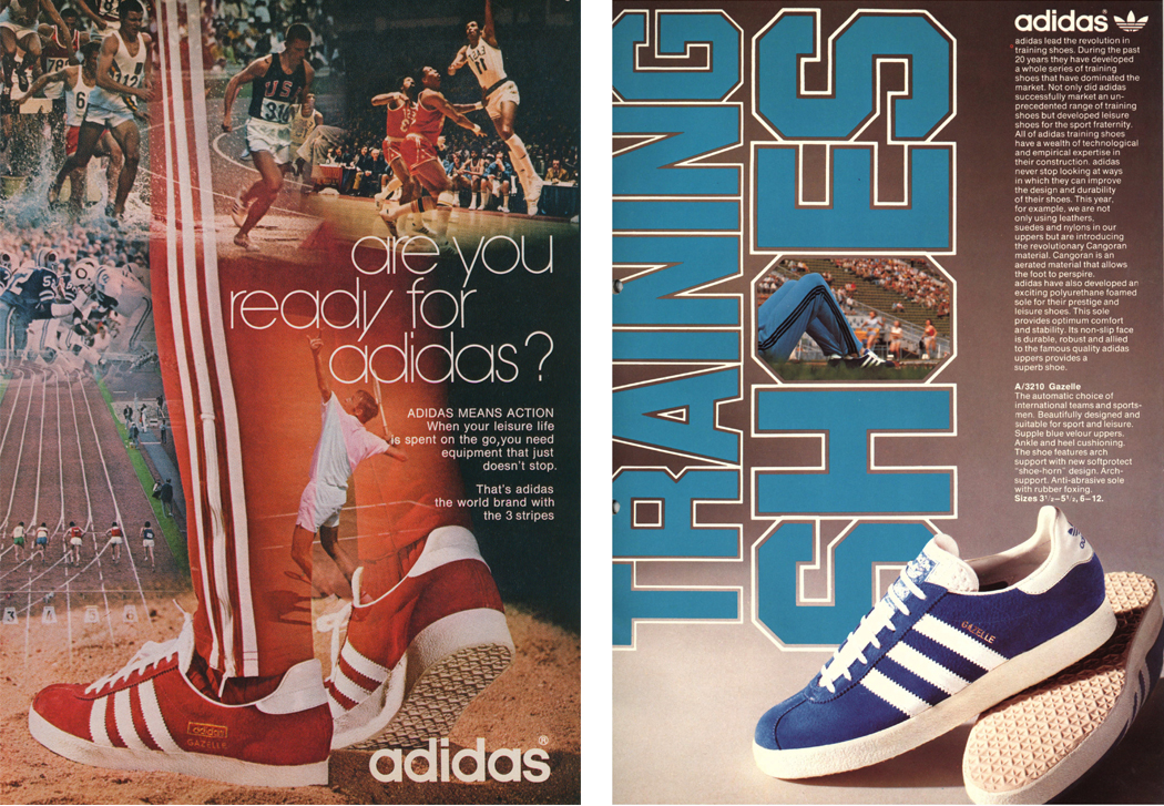 adidas gazelle adverts