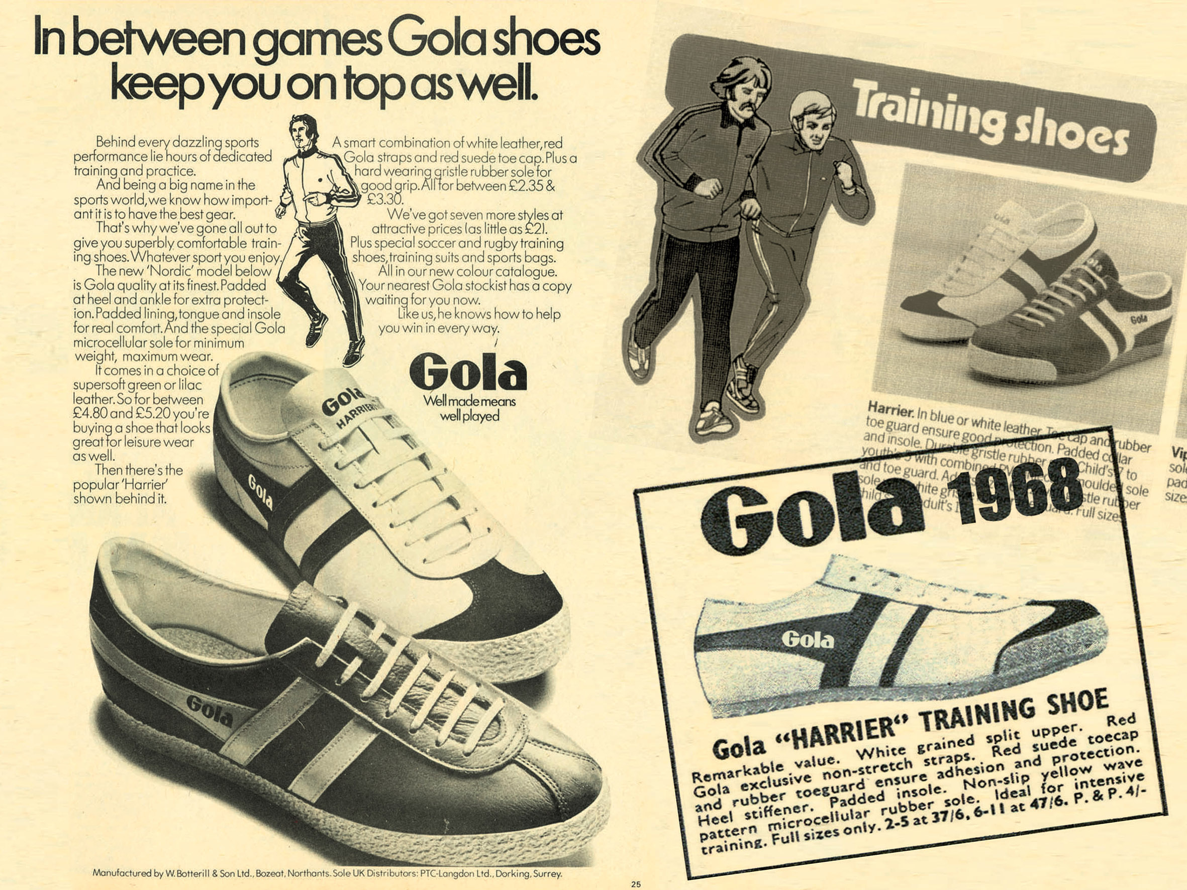 gola harrier advert