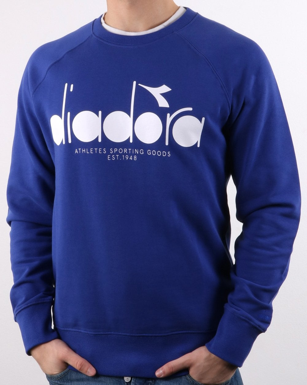 Diadora sweatshirt logo