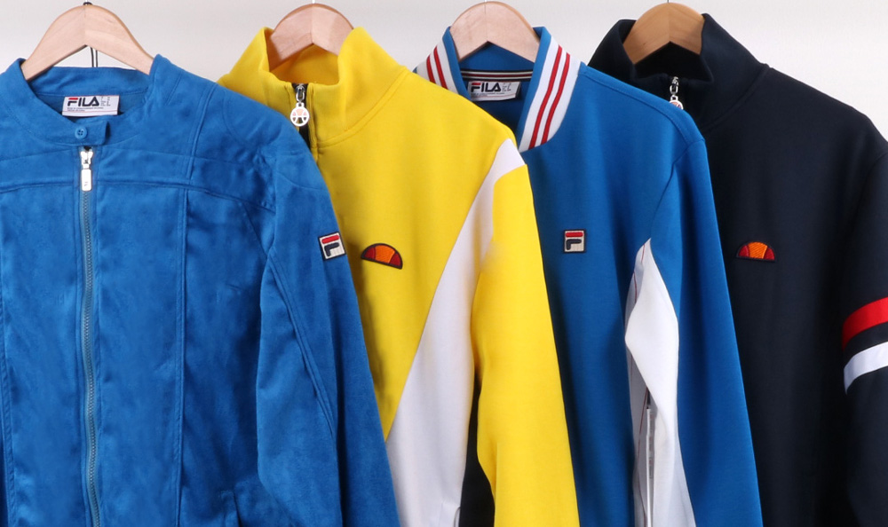 As Worn By Legends - Classic Track Tops At 80s Casual Classics