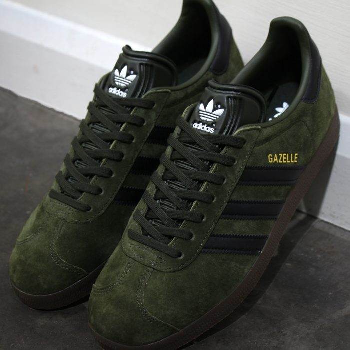 adidas Gazelle Night Olive