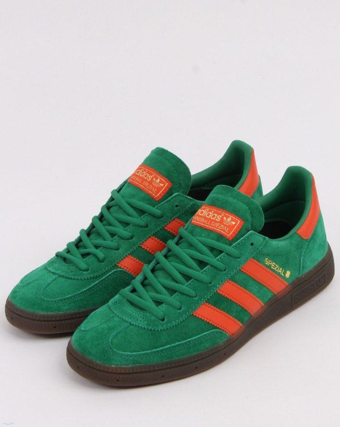 adidas spezial trainer green