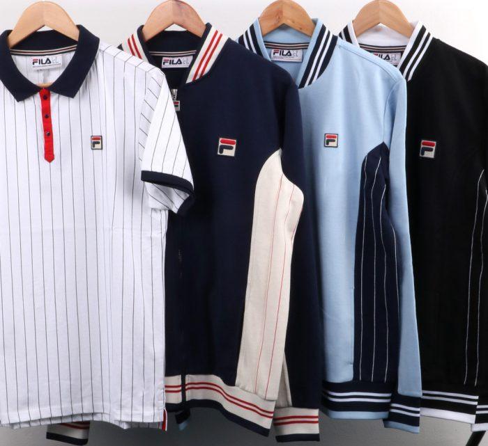 Fila Settanta MK1 track top polo shirt new