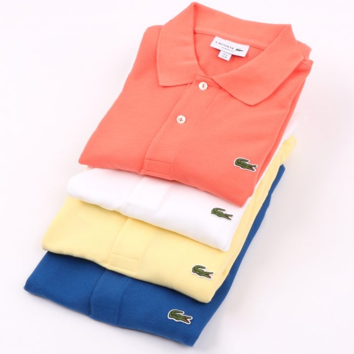Lacoste Polo Shirt Stack Summer 1