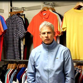 Lacoste polo shirt 80s casual classics video