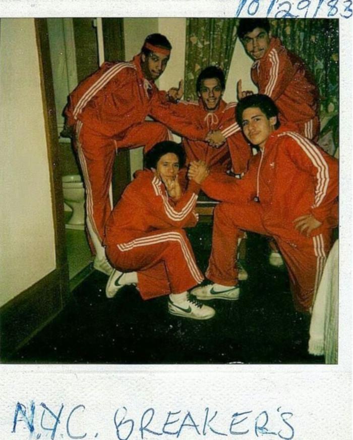 bboy fashion nYC Breakers 1983