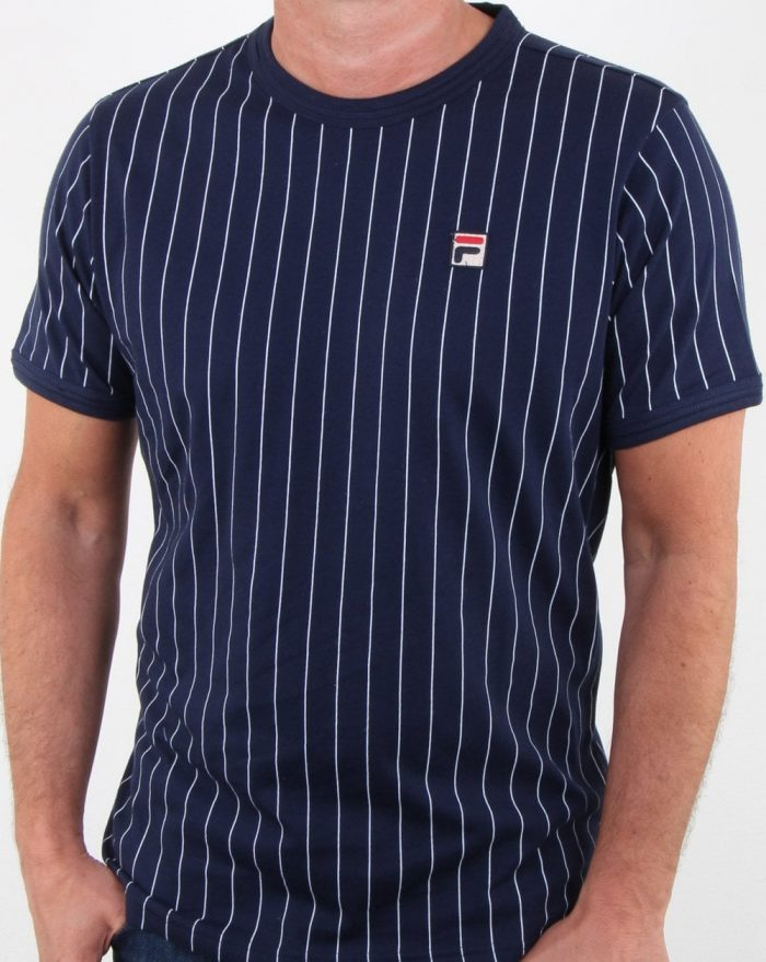 Fila pinstripe borg t-shirt
