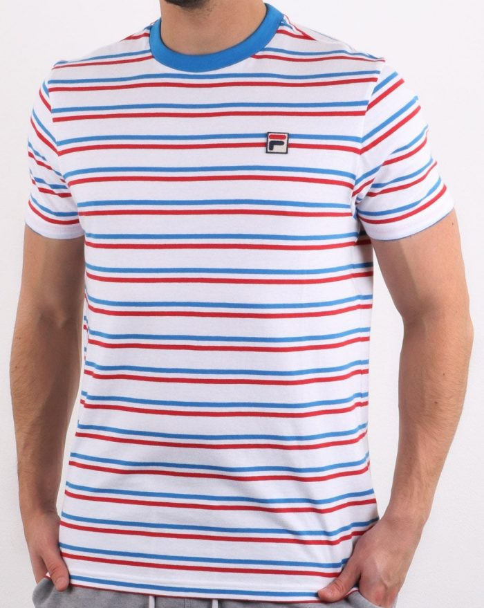 fila striped t-shirt