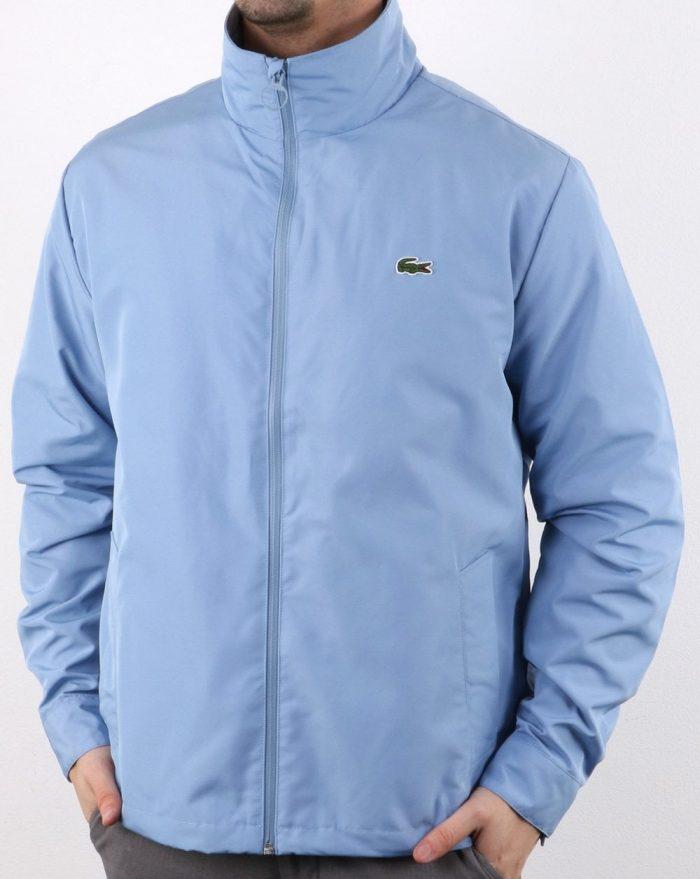 Lacoste concealed hood jacket