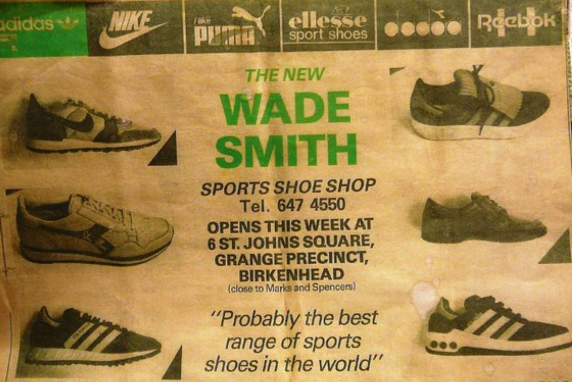 Wade Smith Liverpool 80s