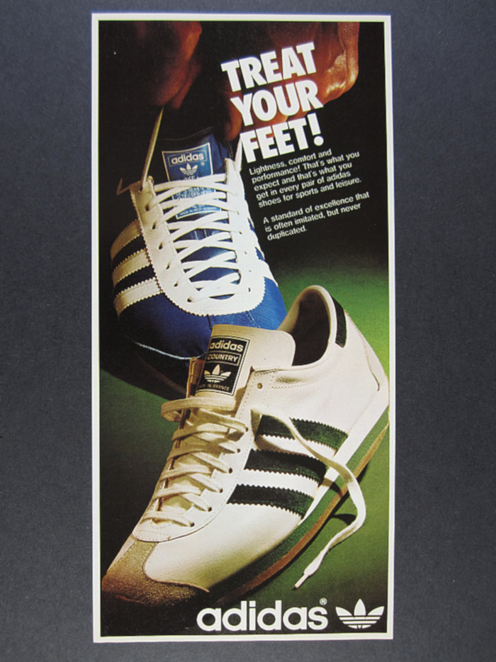 adidas country poster