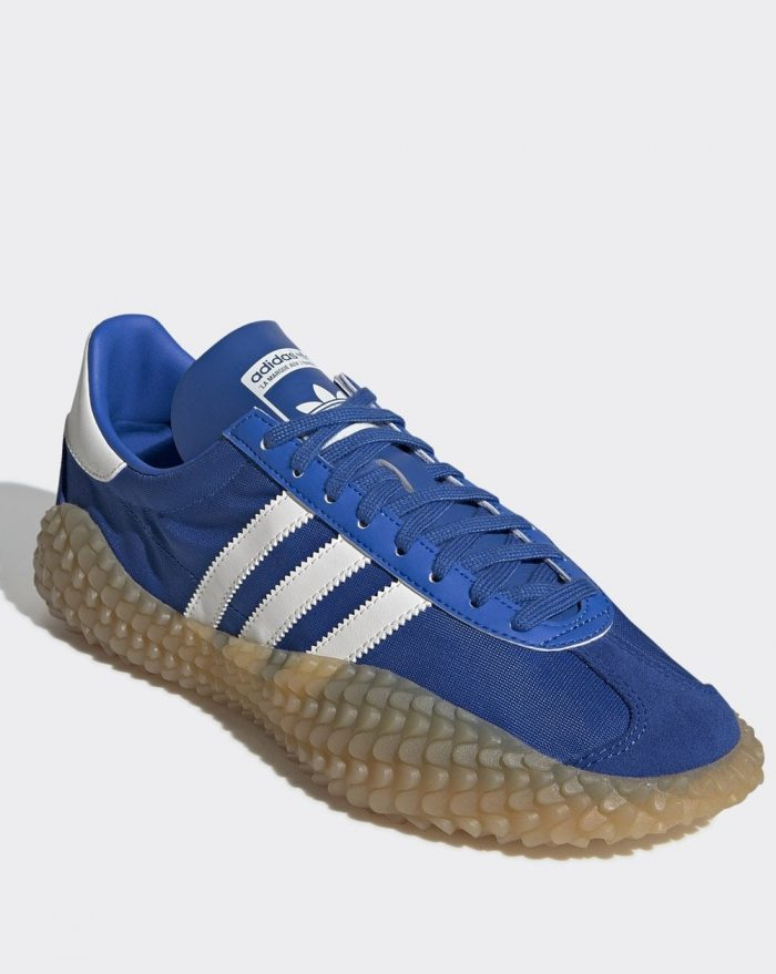 adidas country x Kamanda blue cloud white