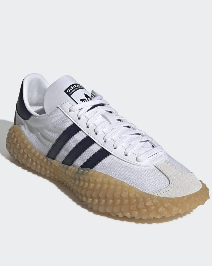 adidas country x Kamanda white navy