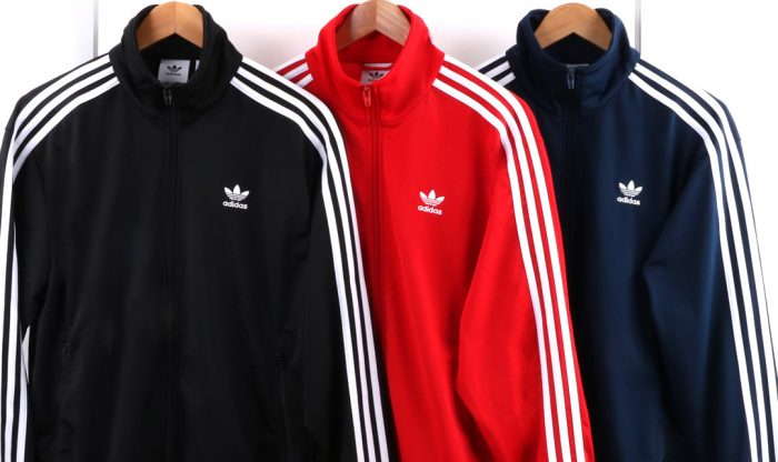 Adidas Originals Firebird Track Top Scarlet Red