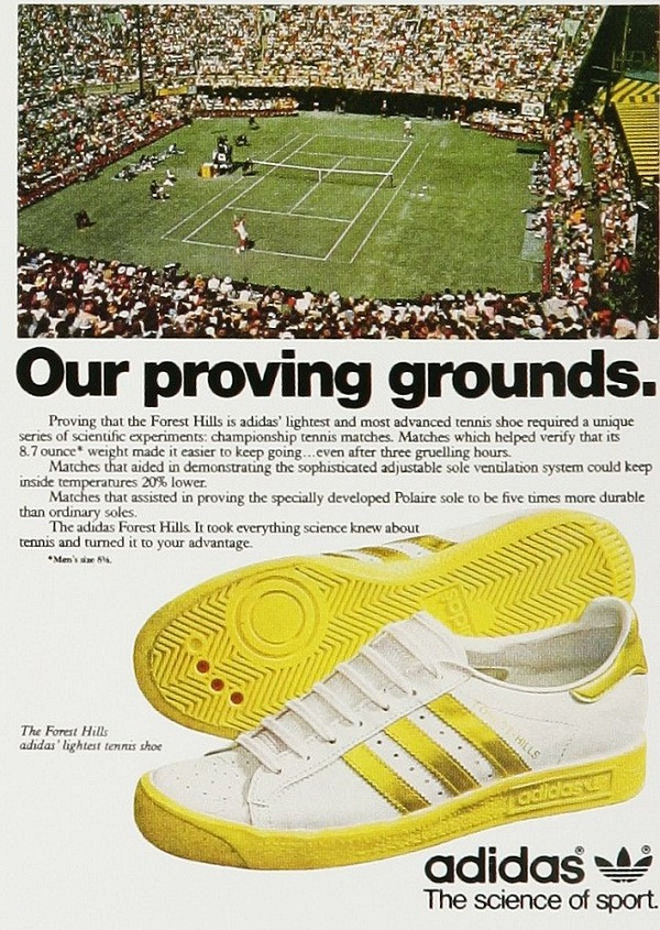 adidas Forest Hills Advert