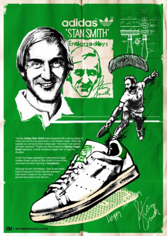 adidas Stan Smith advert magazine