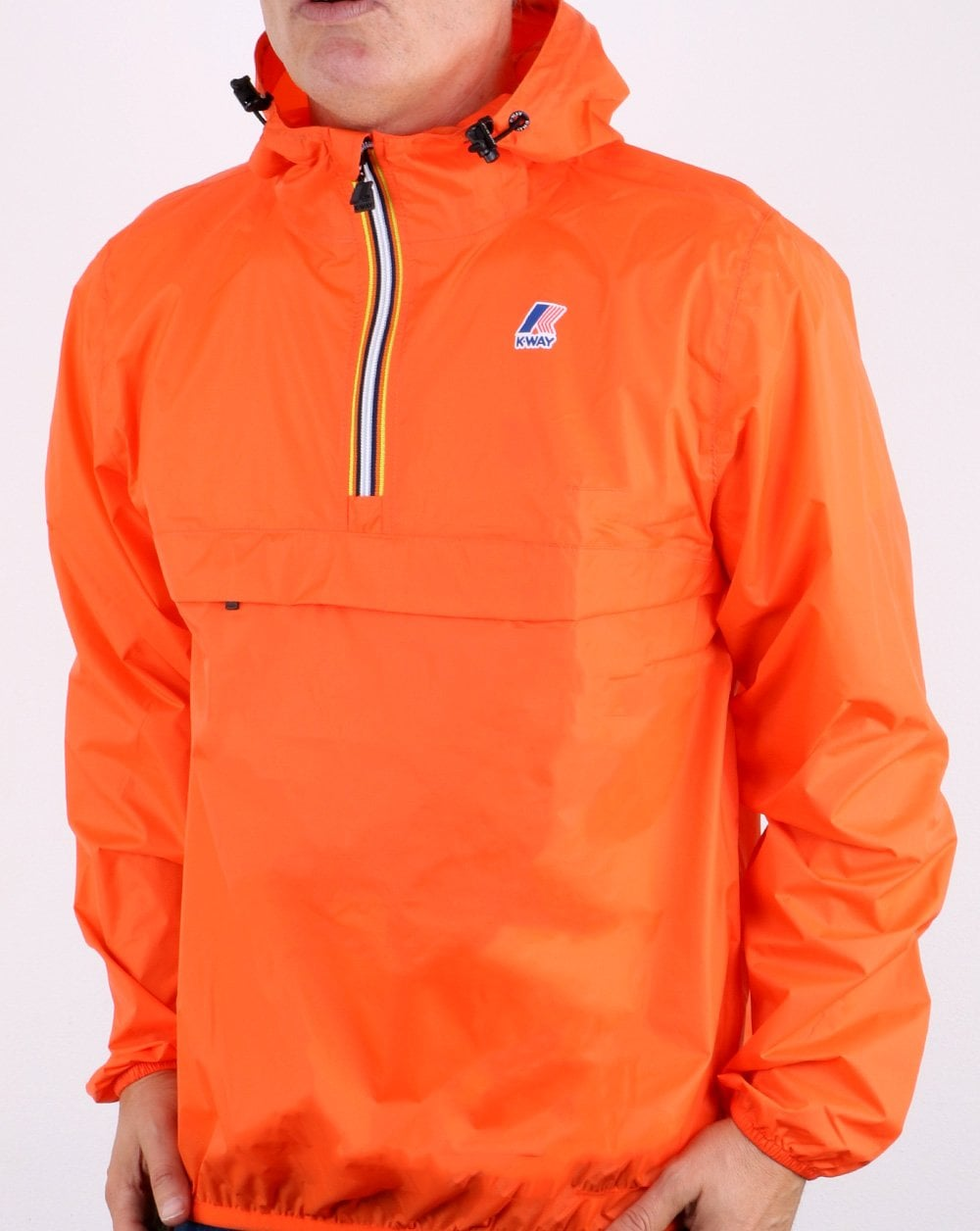 K-Way Leon Half Zip Jacket
