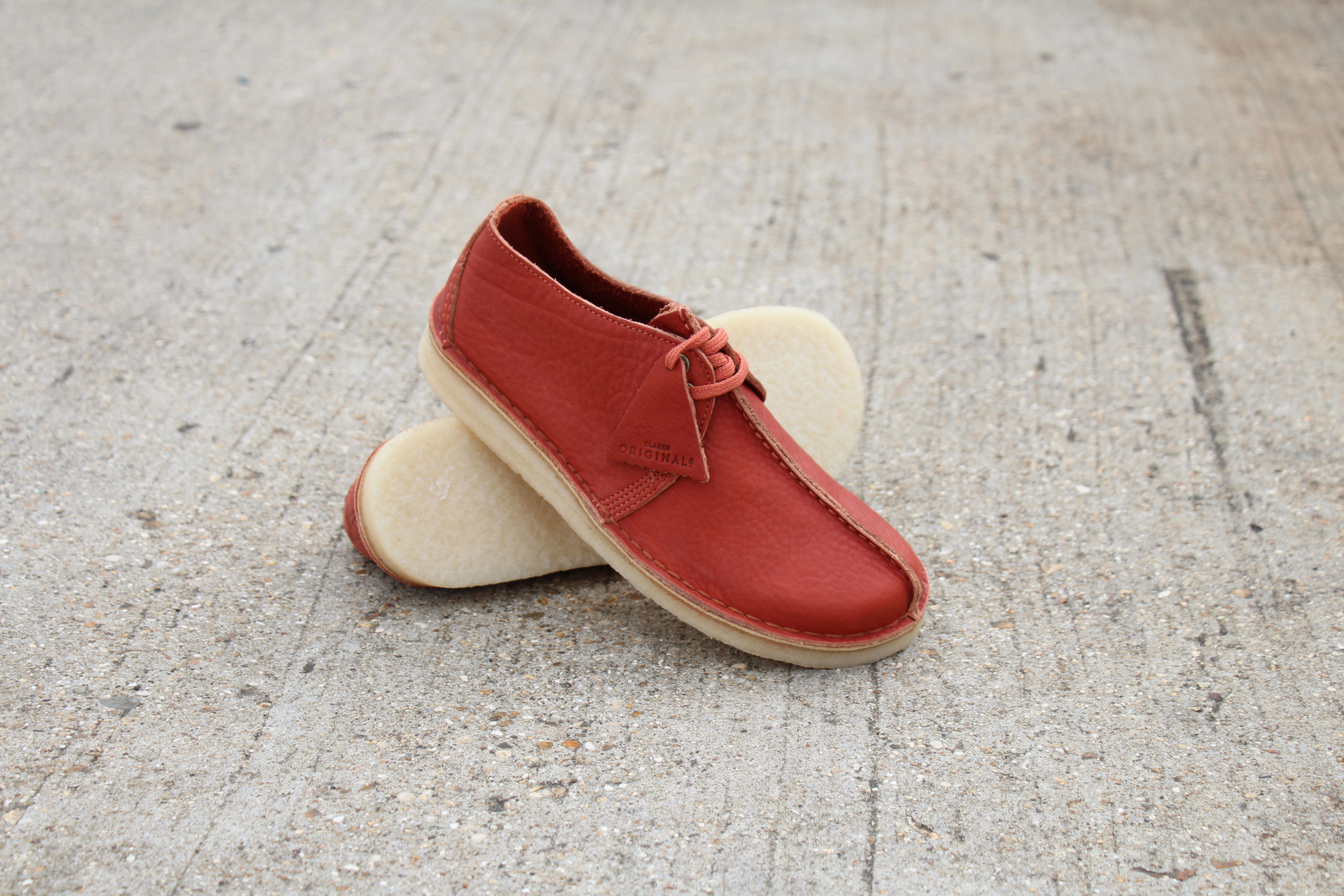 Clarks Desert Trek Burnt Orange