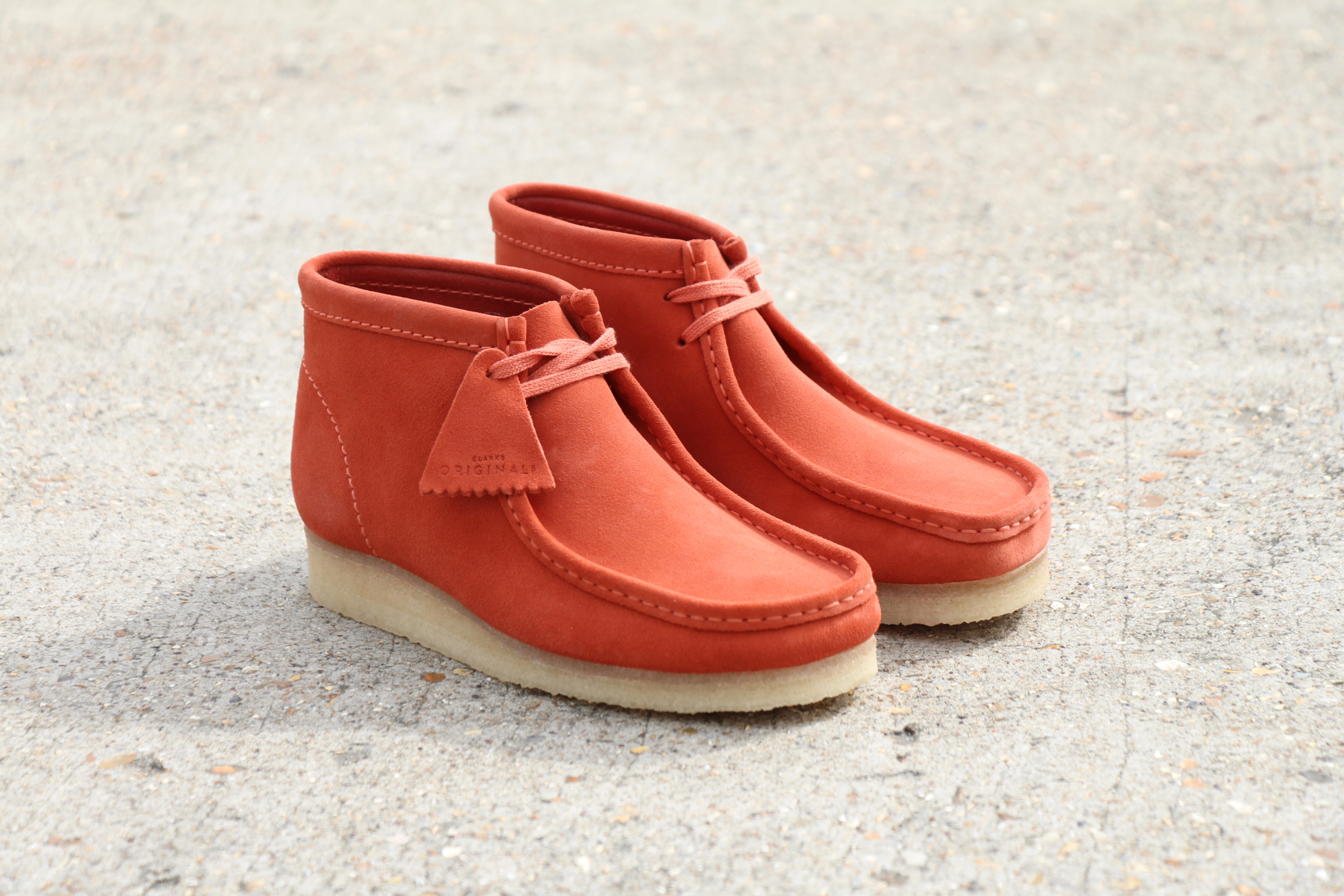 top fashion huge sale latest design Two Clarks Classics' Get The Burnt Orange Treatment - 80's ...