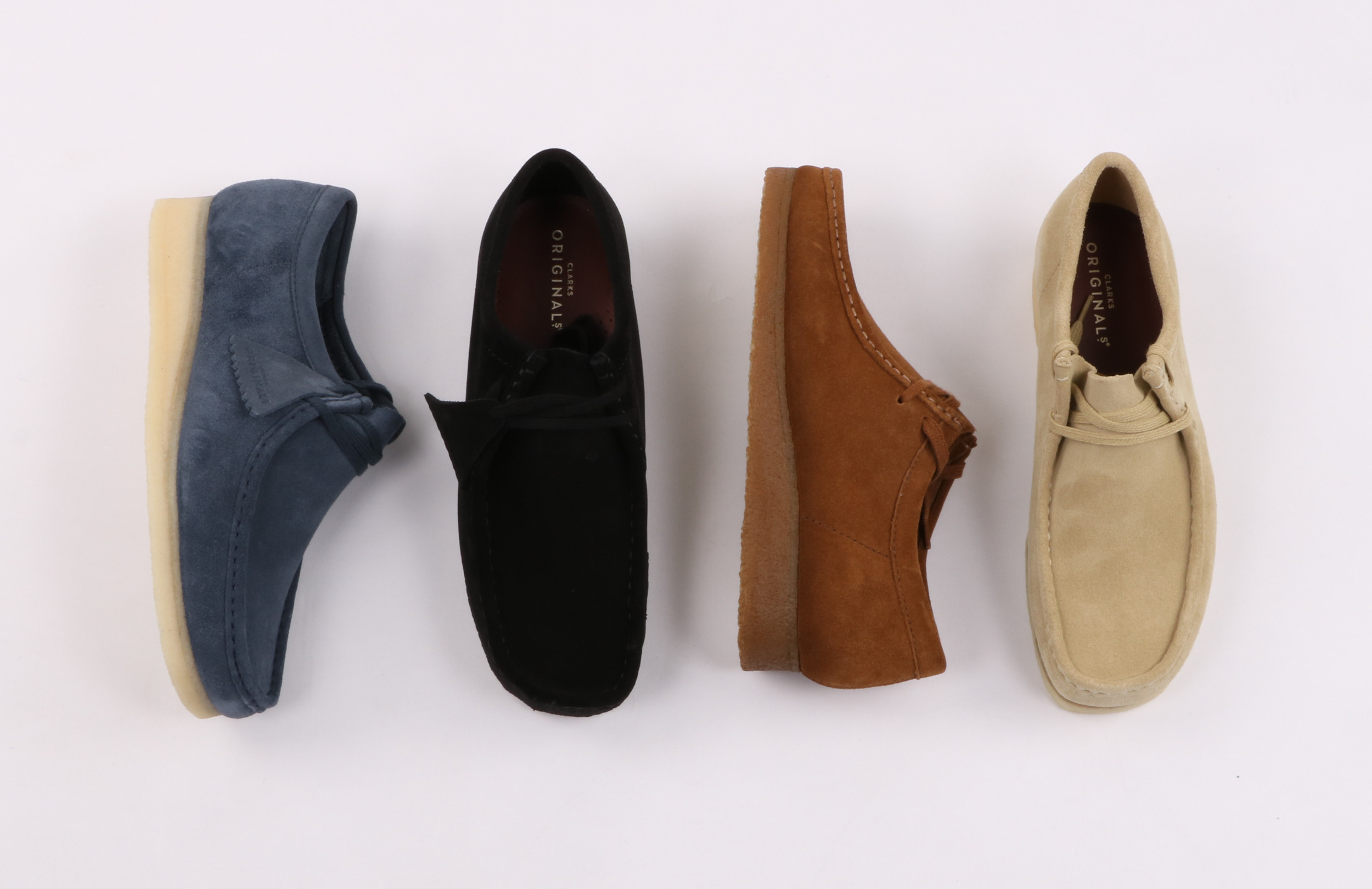 Clarks Wallabee Colourways