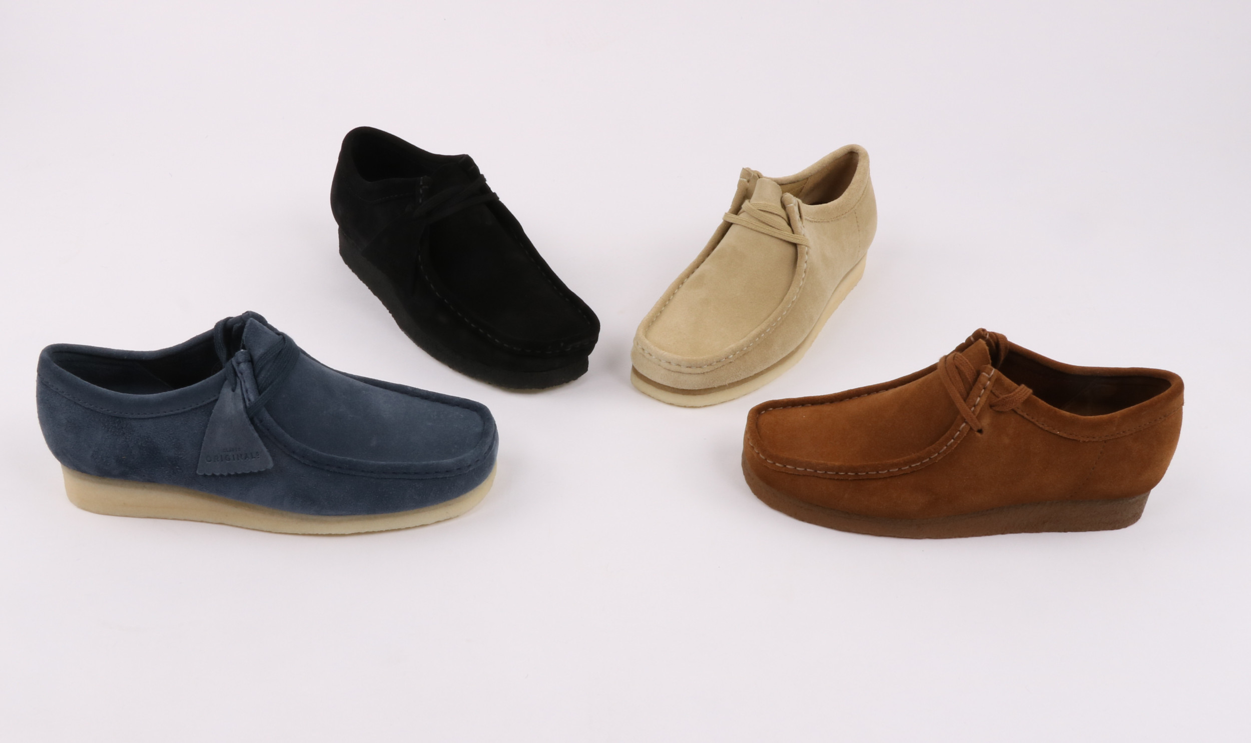 Clarks Wallabee History main