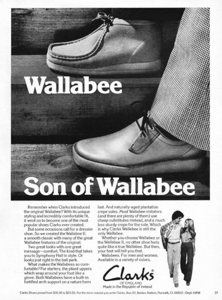 Clarks Wallabee History
