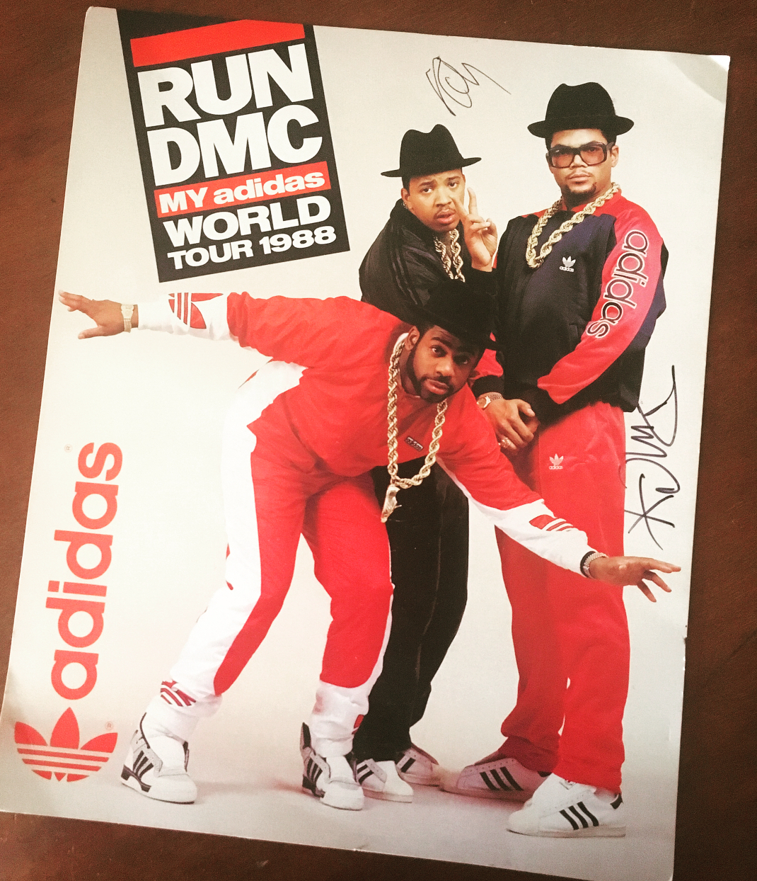 run dmc adidas world tour