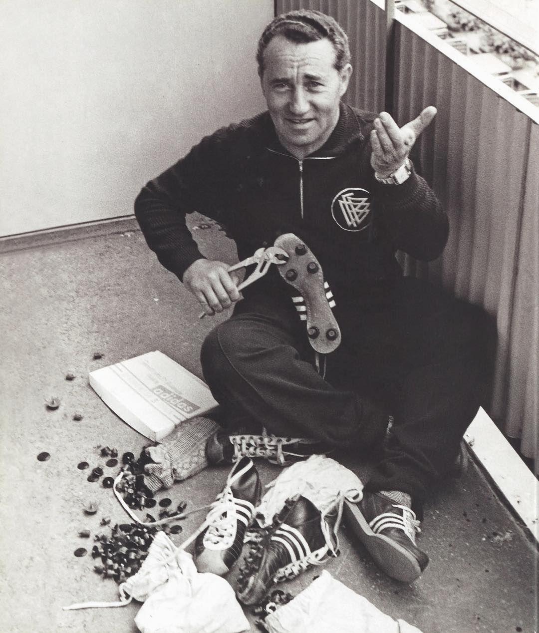 Adi Dassler adidas 70th anniversary