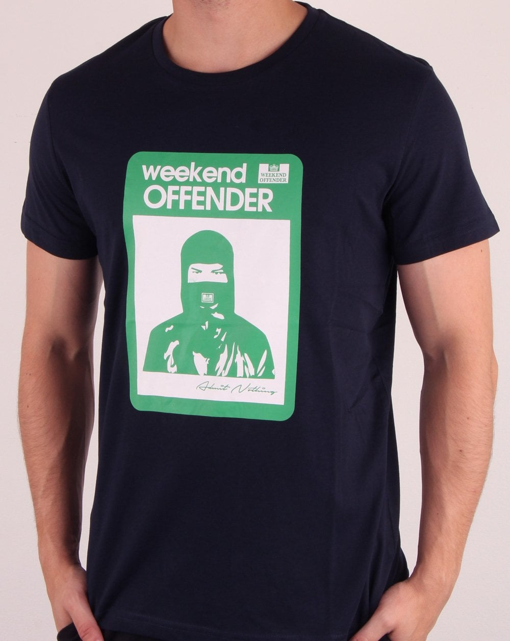 Weekend Offender Marciano T-Shirt in navy