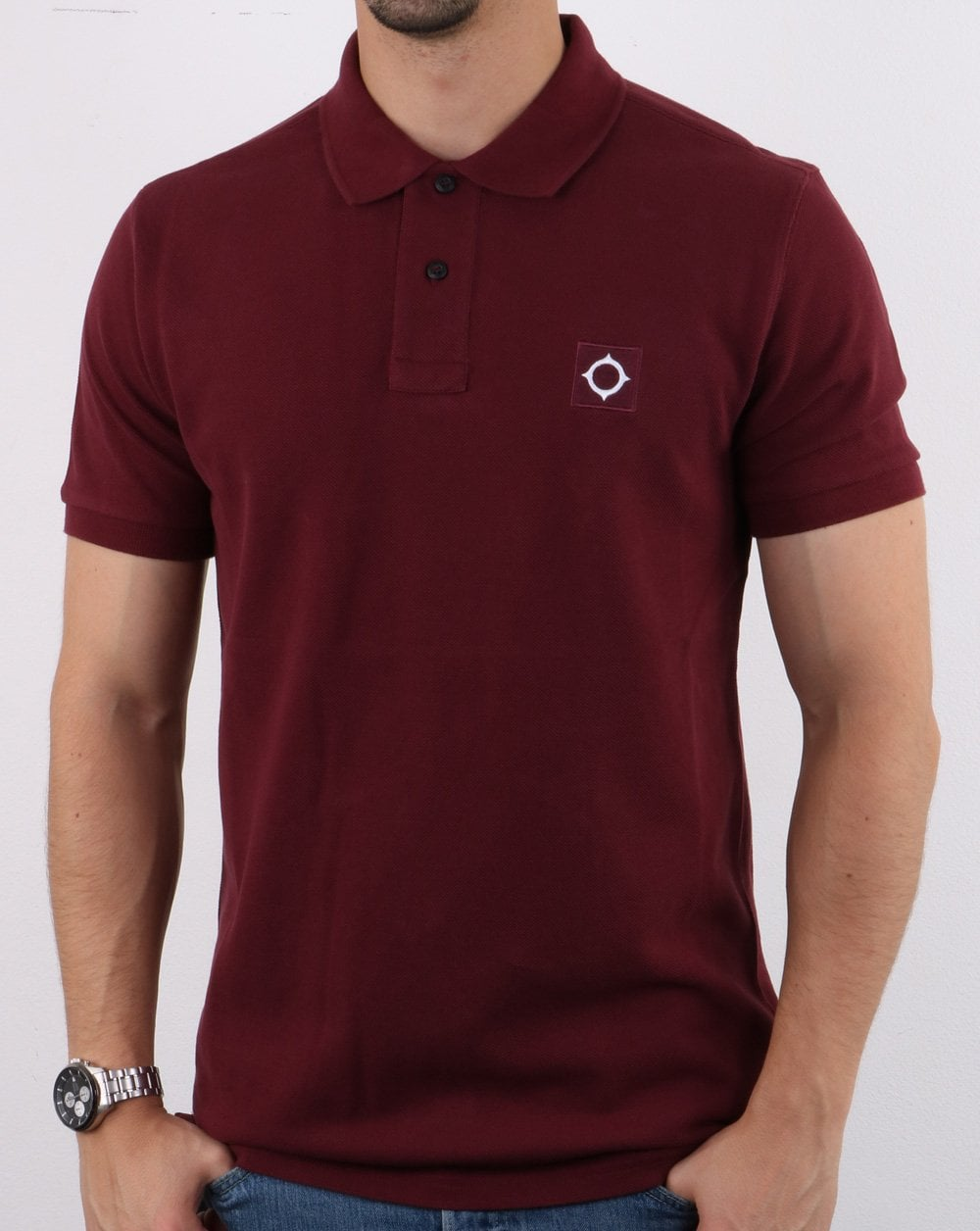 MA.STRUM Pique Polo Shirt
