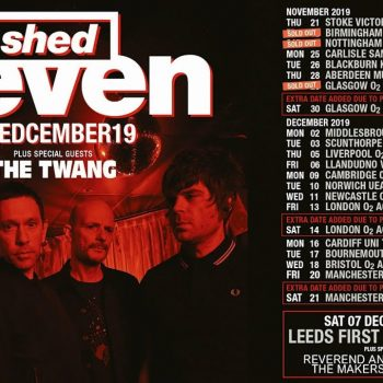Shed Seven UK Tour 2019