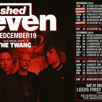 Shed Seven UK Tour 2019