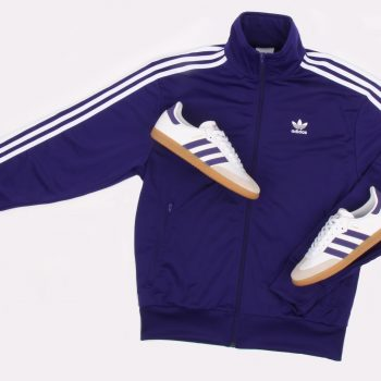 adidas Firebird tracktop Purple