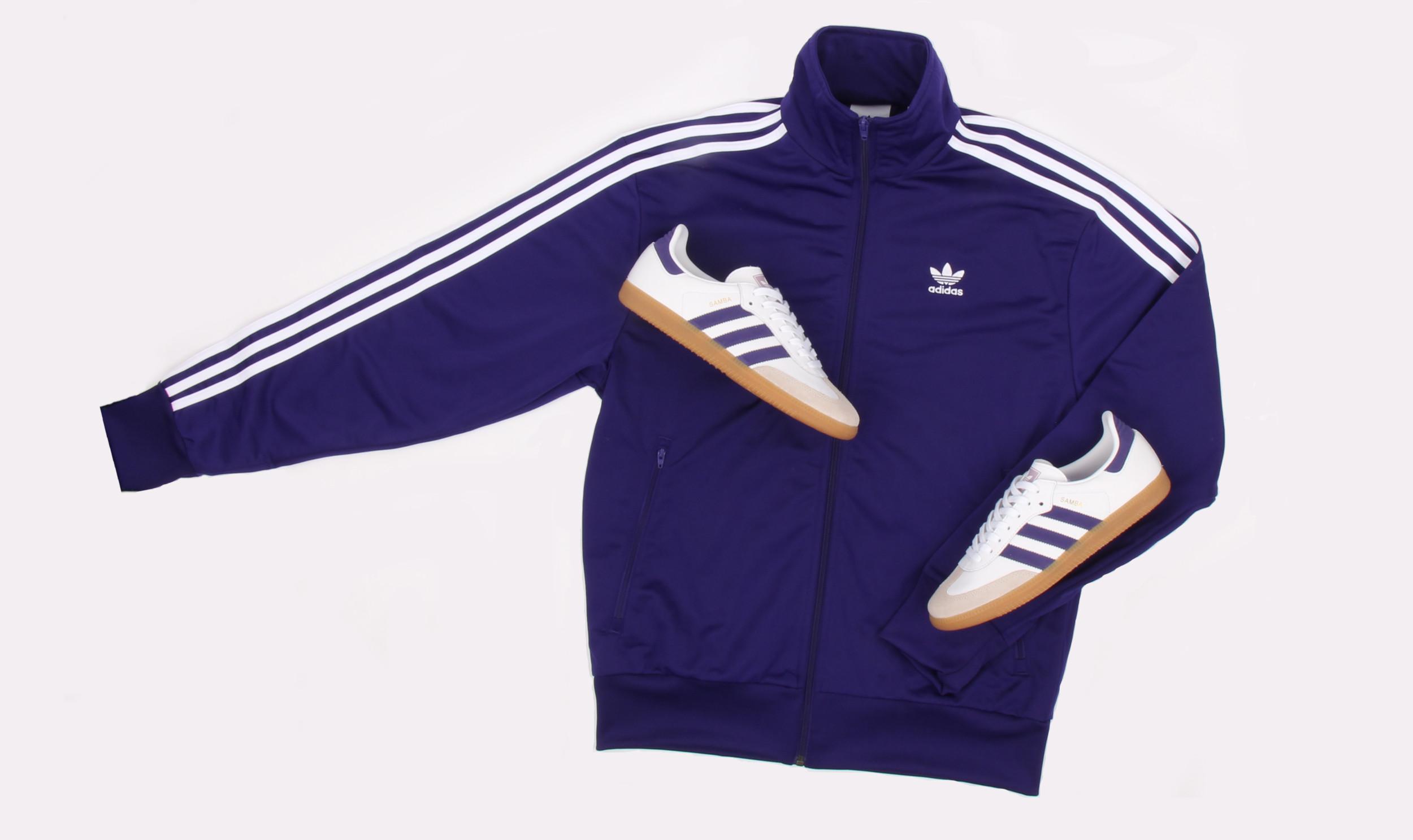 adidas Firebird tracktop Purple