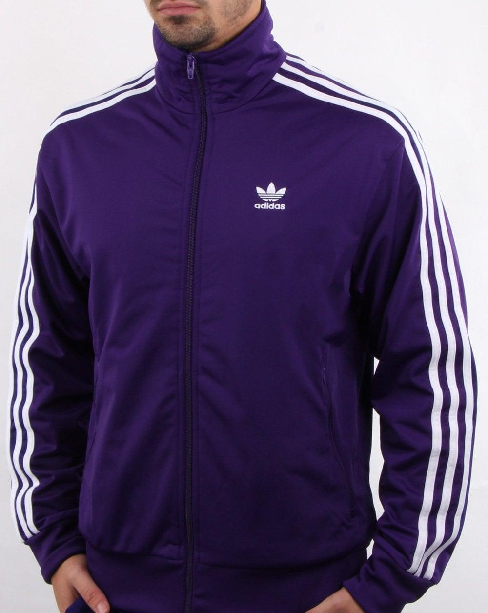 adidas Firebird Track Top Purple