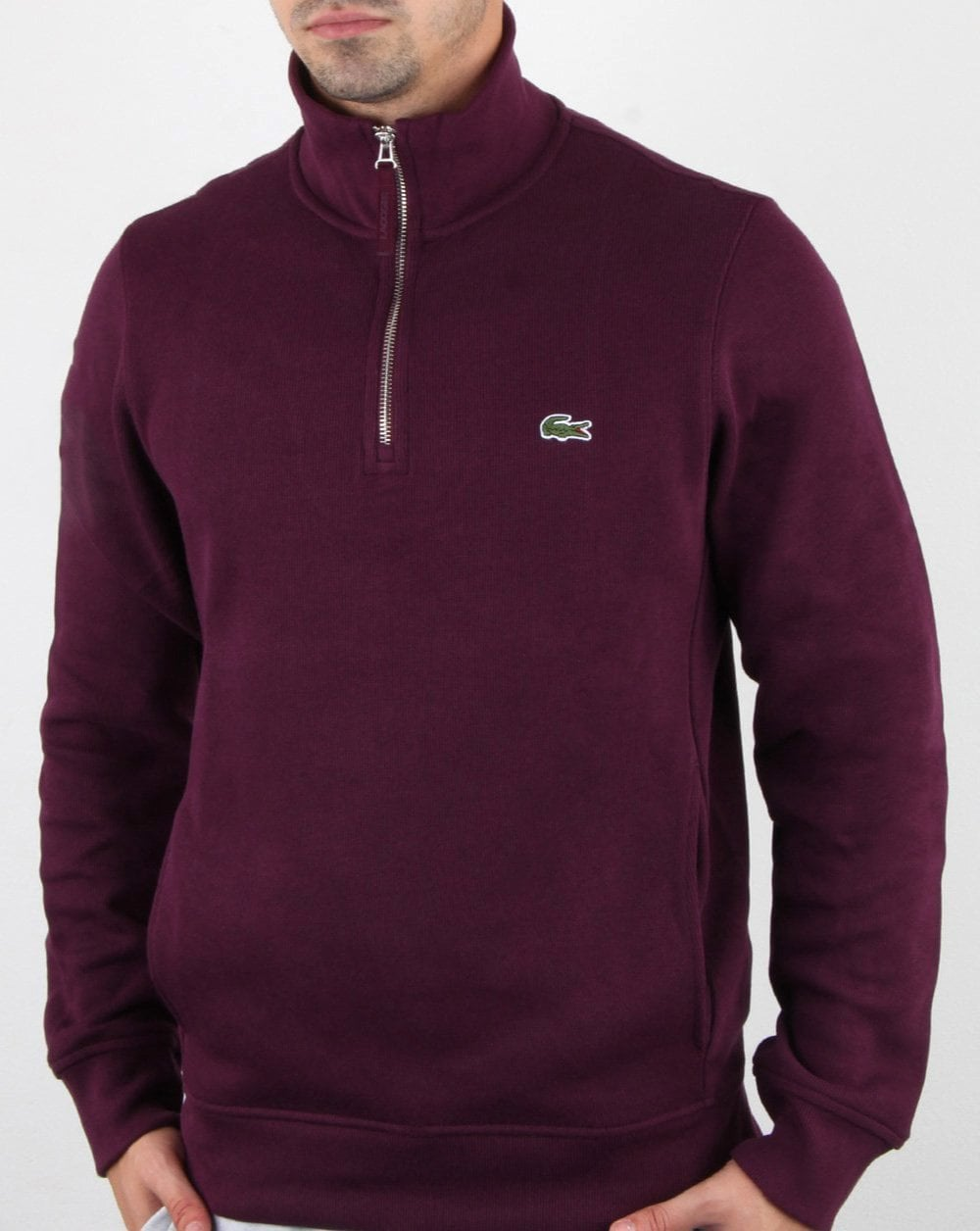 Lacoste Quarter Zip Sweat
