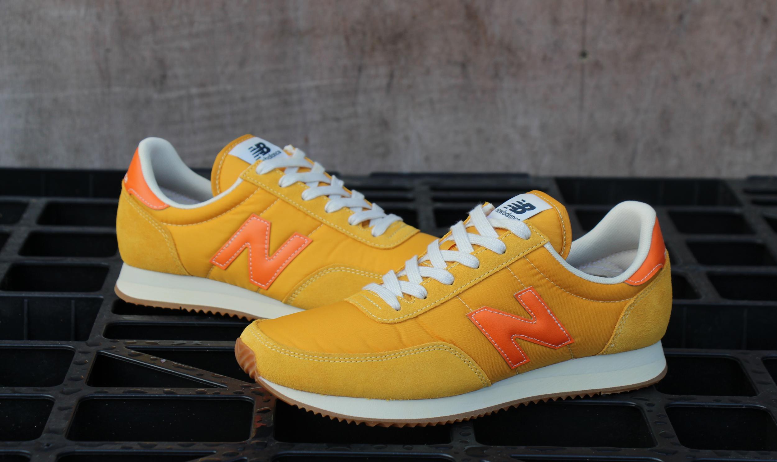 New Balance 720 Trainer Yellow