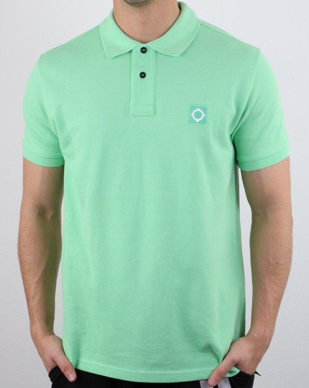 MA.STRUM Pique Polo Shirt