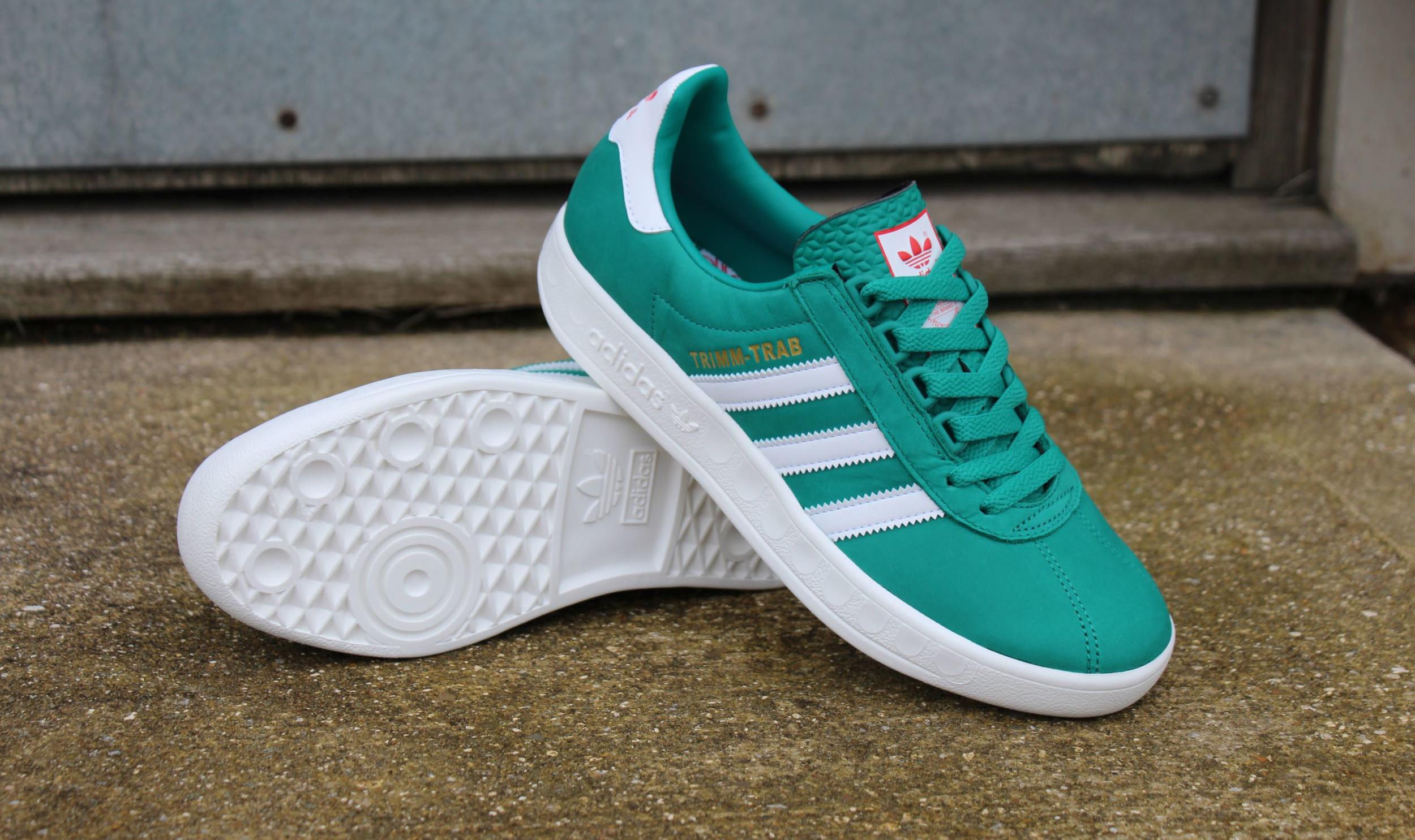 adidas trimm trab glory green