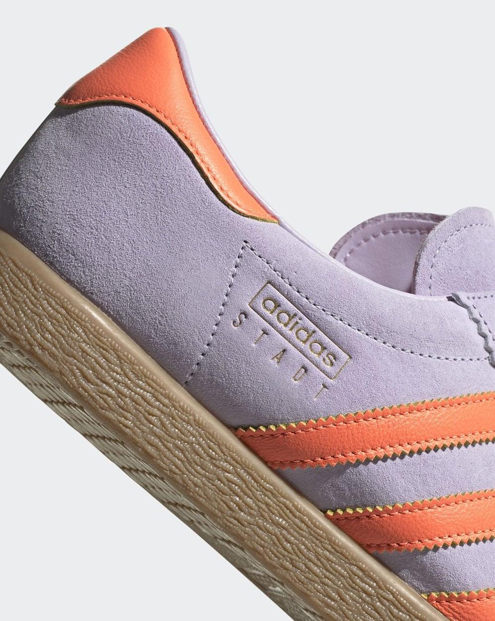 adidas Stadt Trainer Purple Orange
