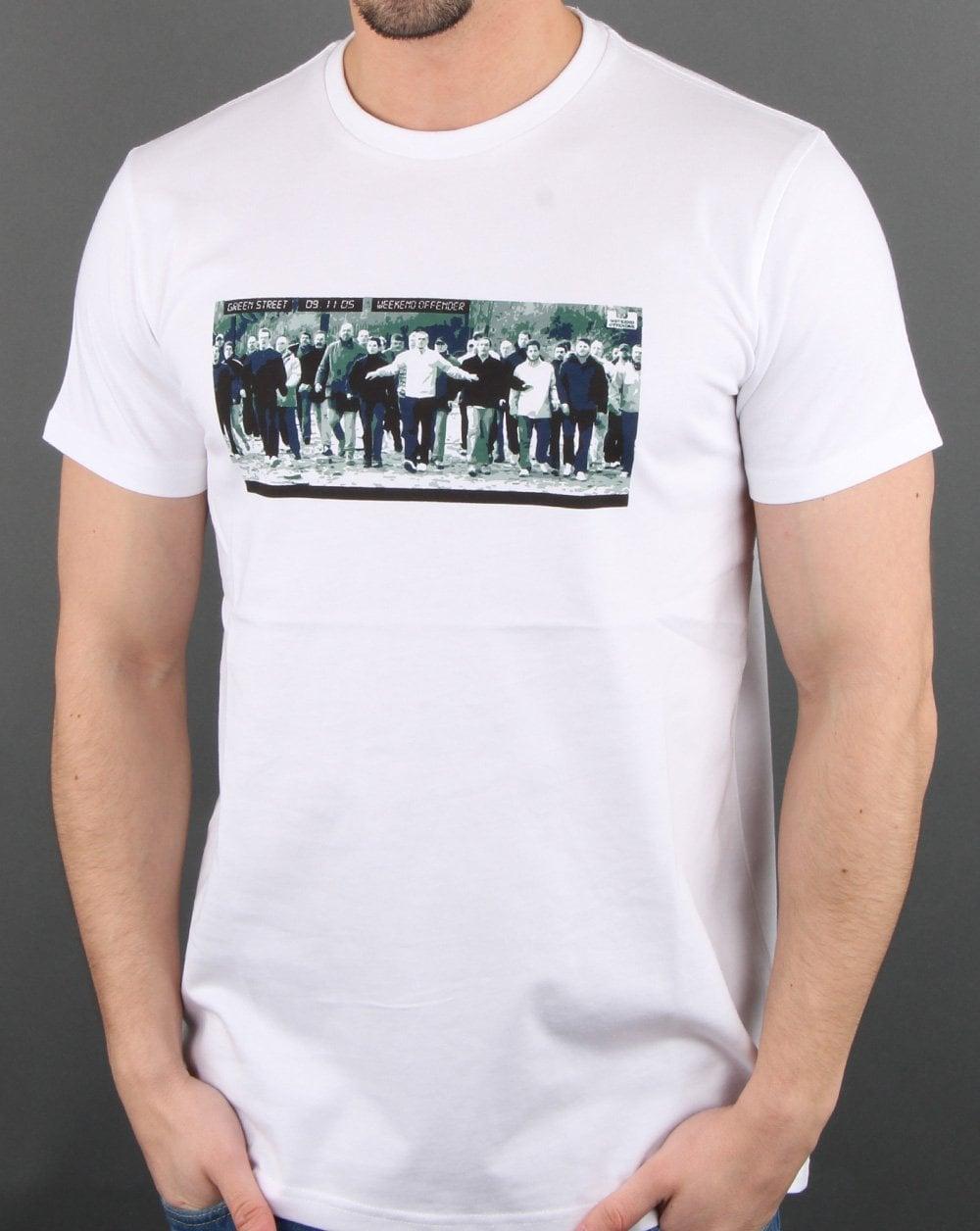 Weekend Offender Green Street T-shirt