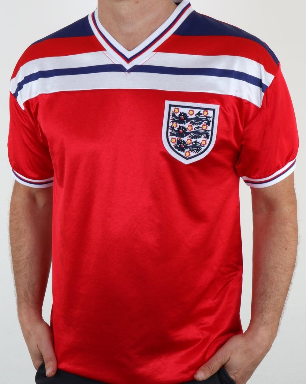 England 1982 football shirt away